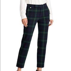 Ralph Lauren Plaid Jacquard Pants